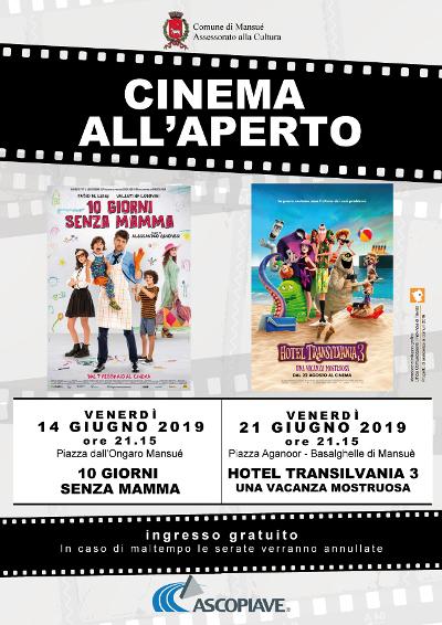 Mansuè   CINEMA ALL'APERTO