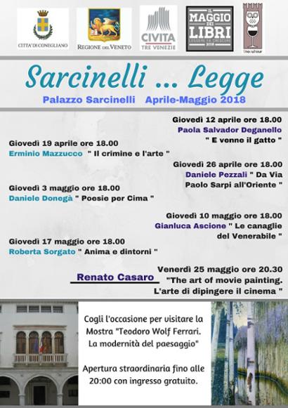 Conegliano | Sarcinelli... legge
