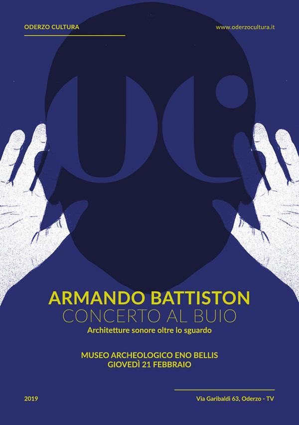 Oderzo | Armando Battiston - Concerto al buio